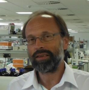 George photo in lab - George Kirov